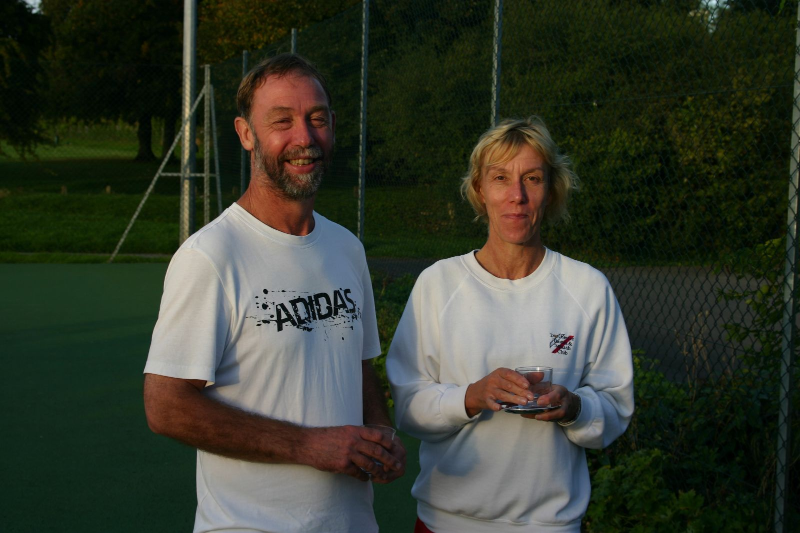 Mixed & Mixed Vets Plate Winners - Tim Toogood & Sue Ramsbottom
