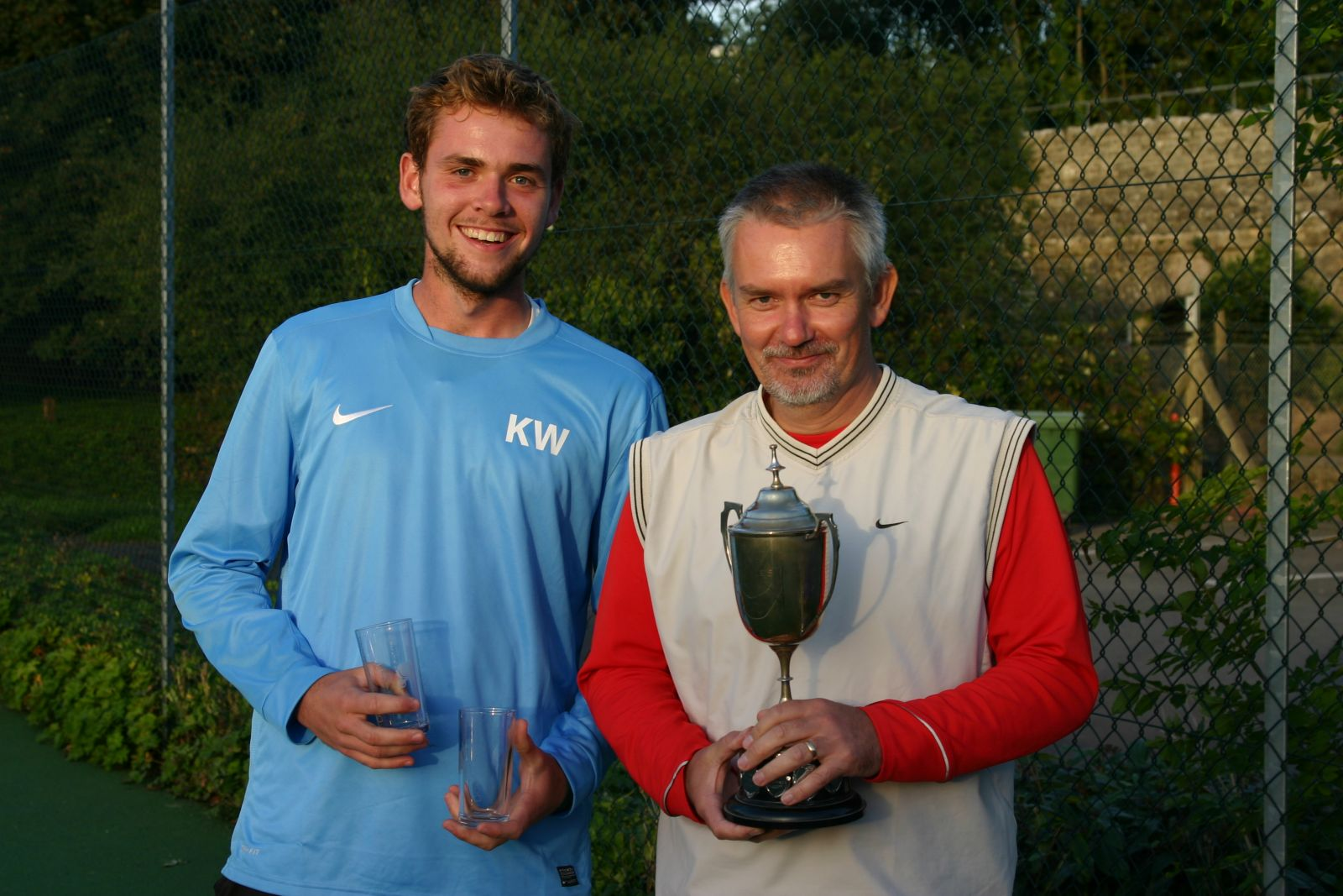 Men's Doubles Champions - Kevin Willemse & Tim Button
