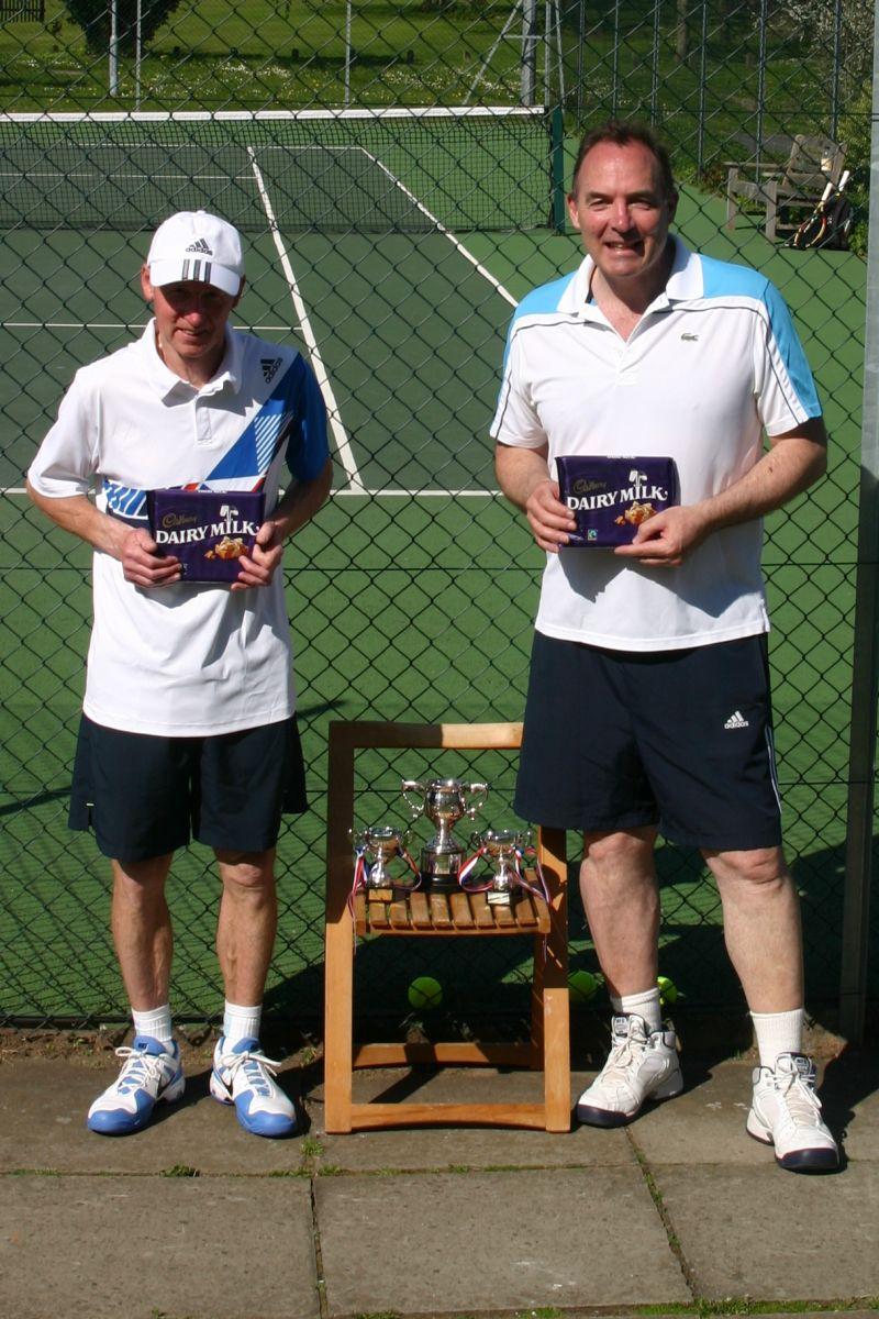 May 2013 Runners-up - Derek Hanby & Al Clark