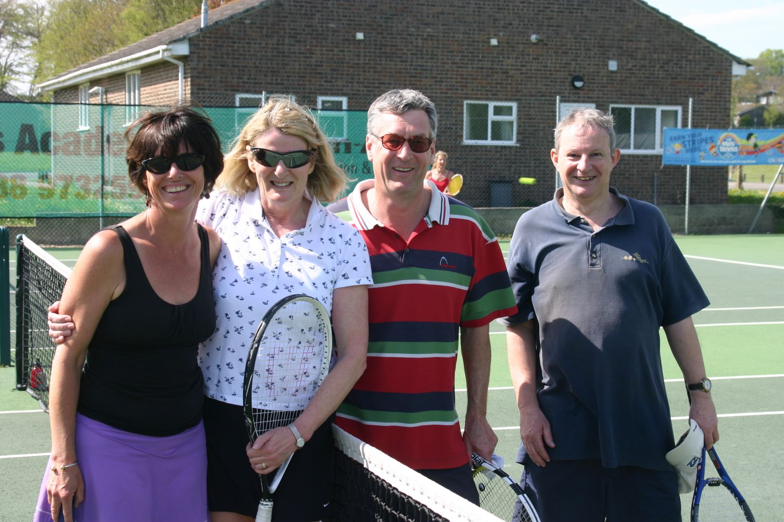 May 2013 Semi finalists - Elspeth Gracie & Ros Clark v Chris Porter & Mike Williams