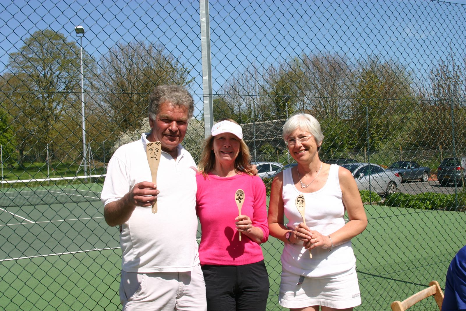 May 2013 Wooden spoon winners - Roger & Val Welch and Alison Beaven