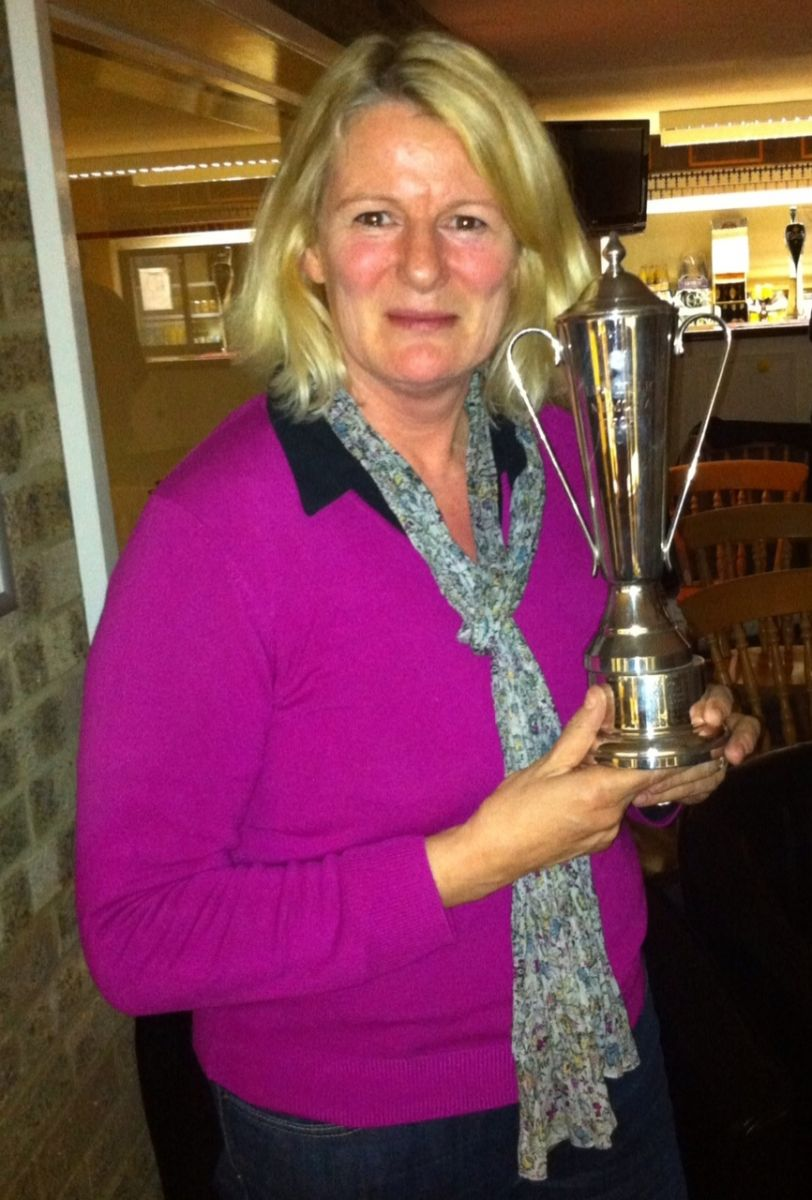 Club Person of the year 2013 - Ros Clark