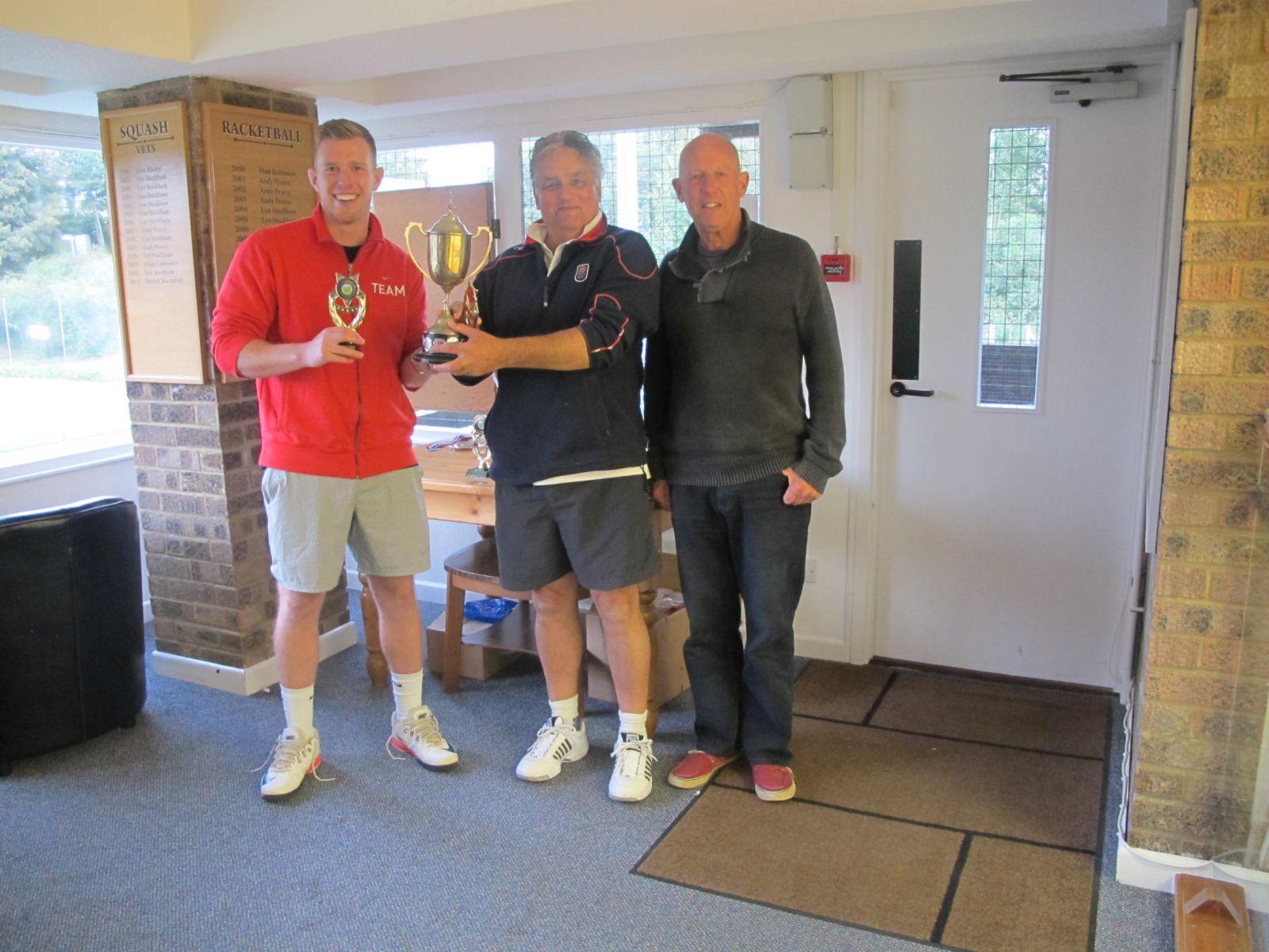 Guy O'Neill & Paul Scott, Men's Doubles Champions