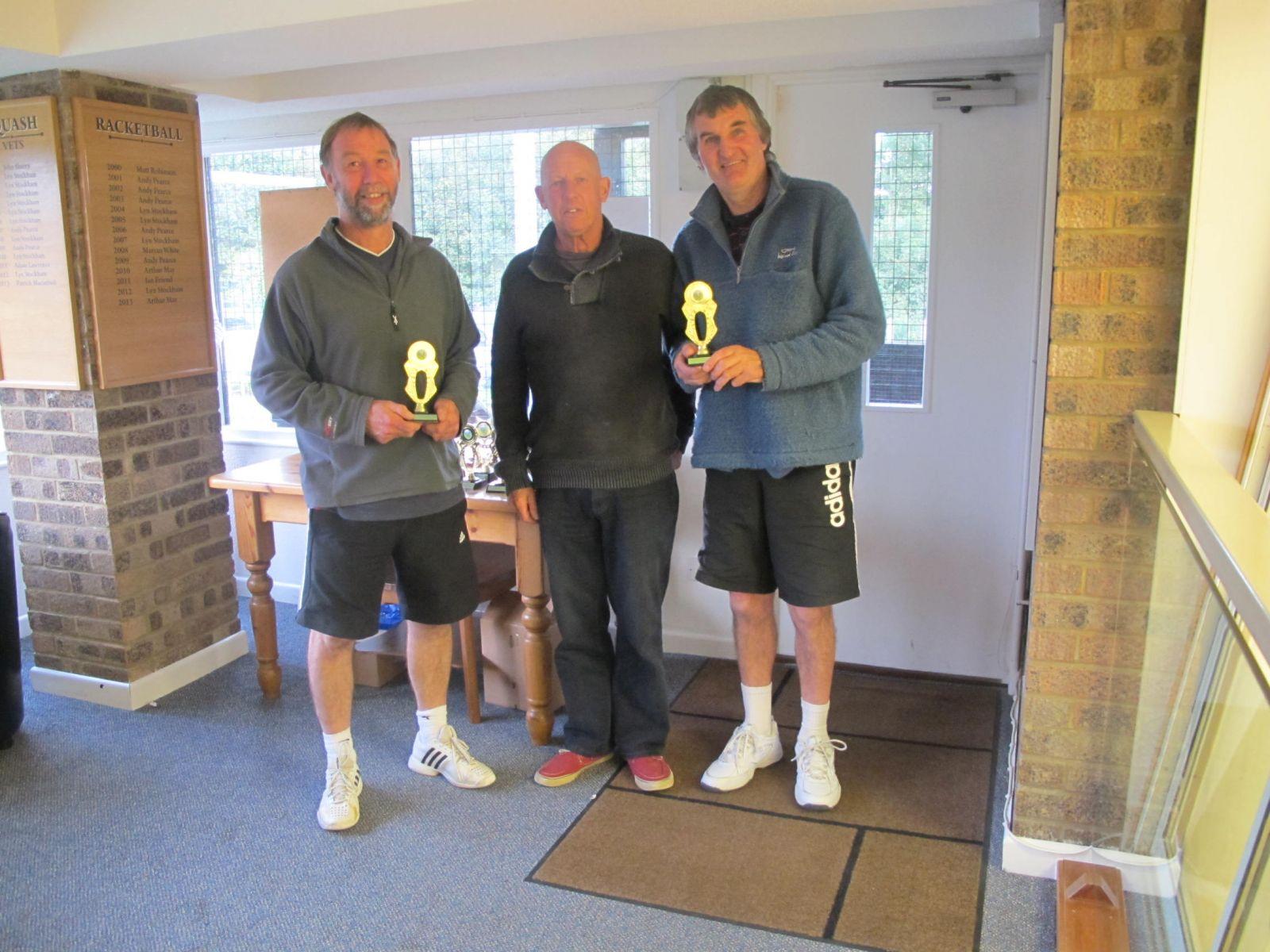 Tim Toogood & John Hobbs, Men's Doubles runners-up