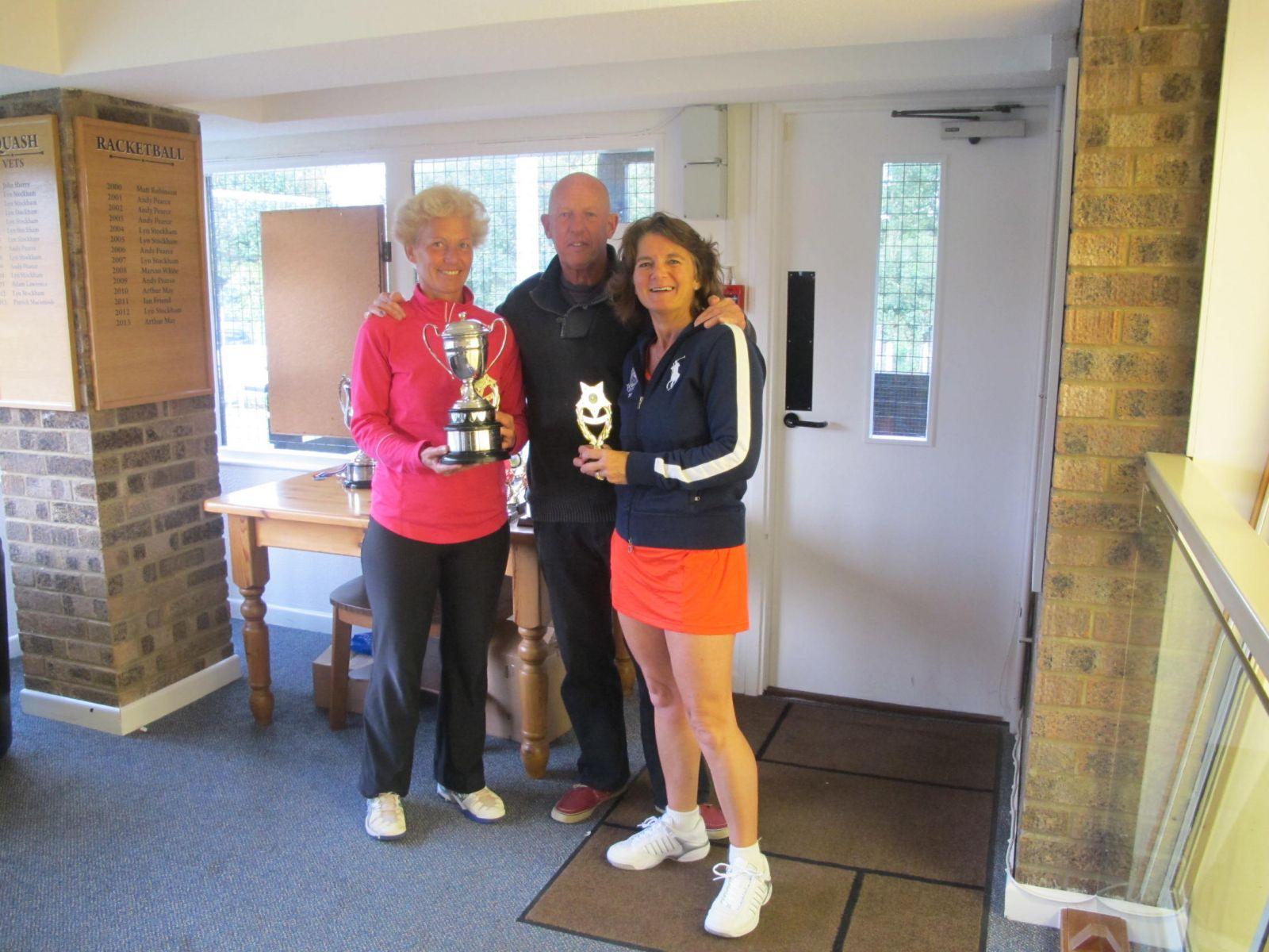 Yvonne Henderson & Sally Dinham-Scott, Ladies' Doubles Champions