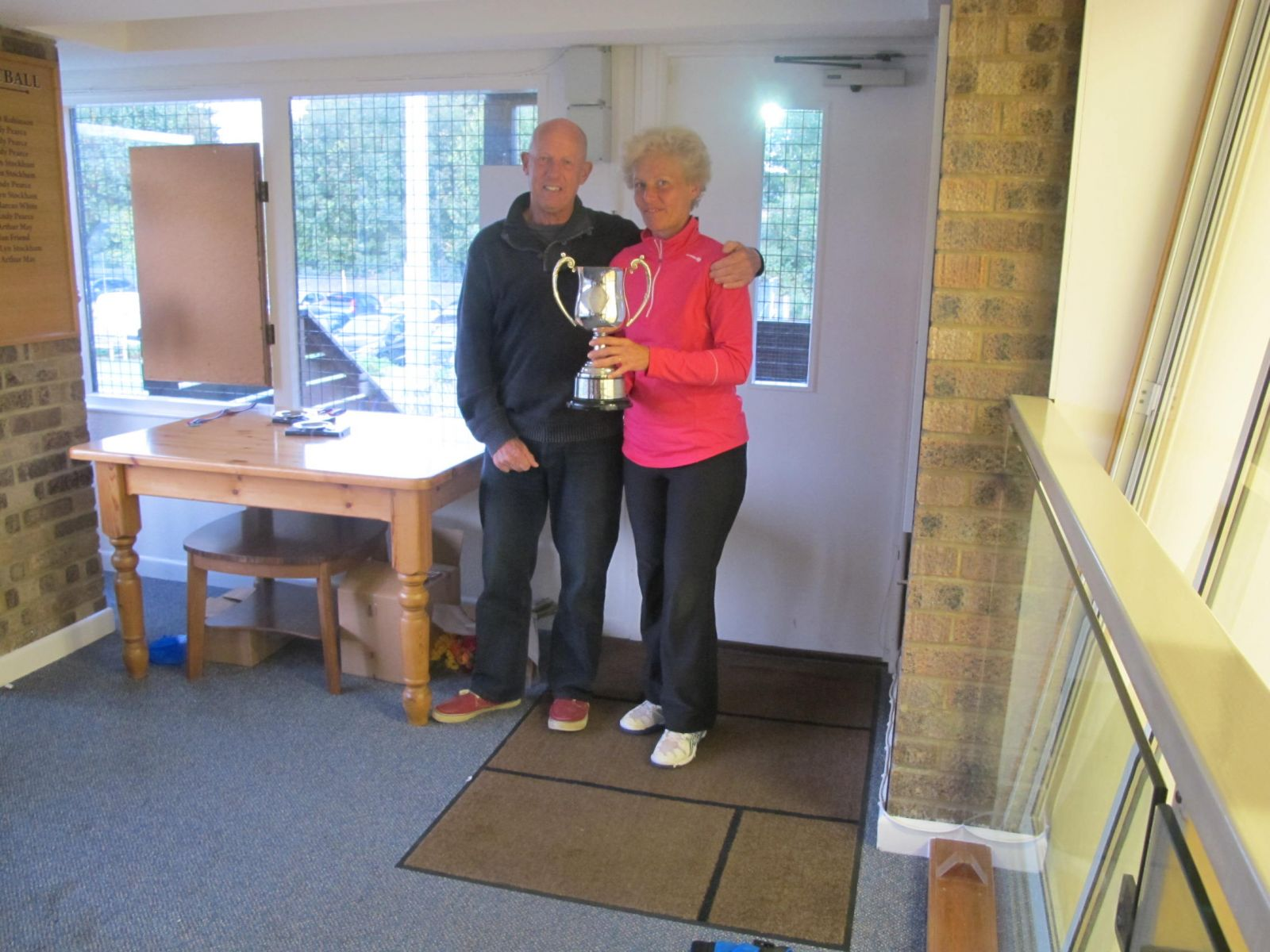 Yvonne Henderson, 2014 Rod Skidmore Memorial Trophy winner for winning the most main events