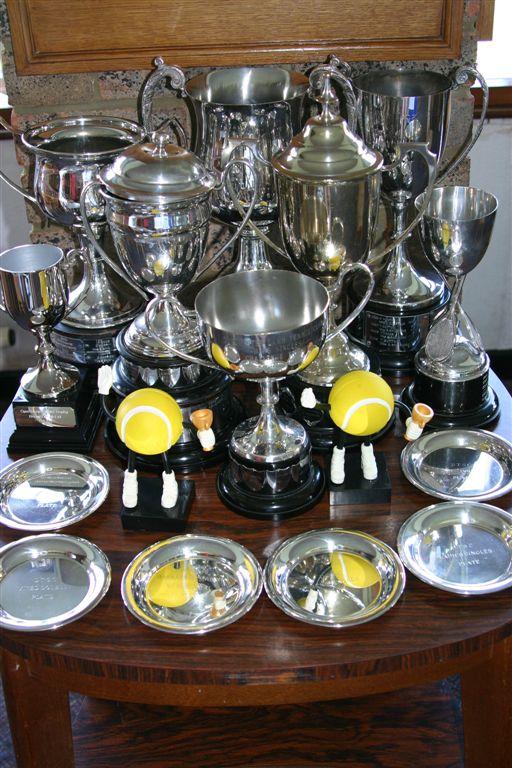 Tennis Trophies- Annual Tournament 2011