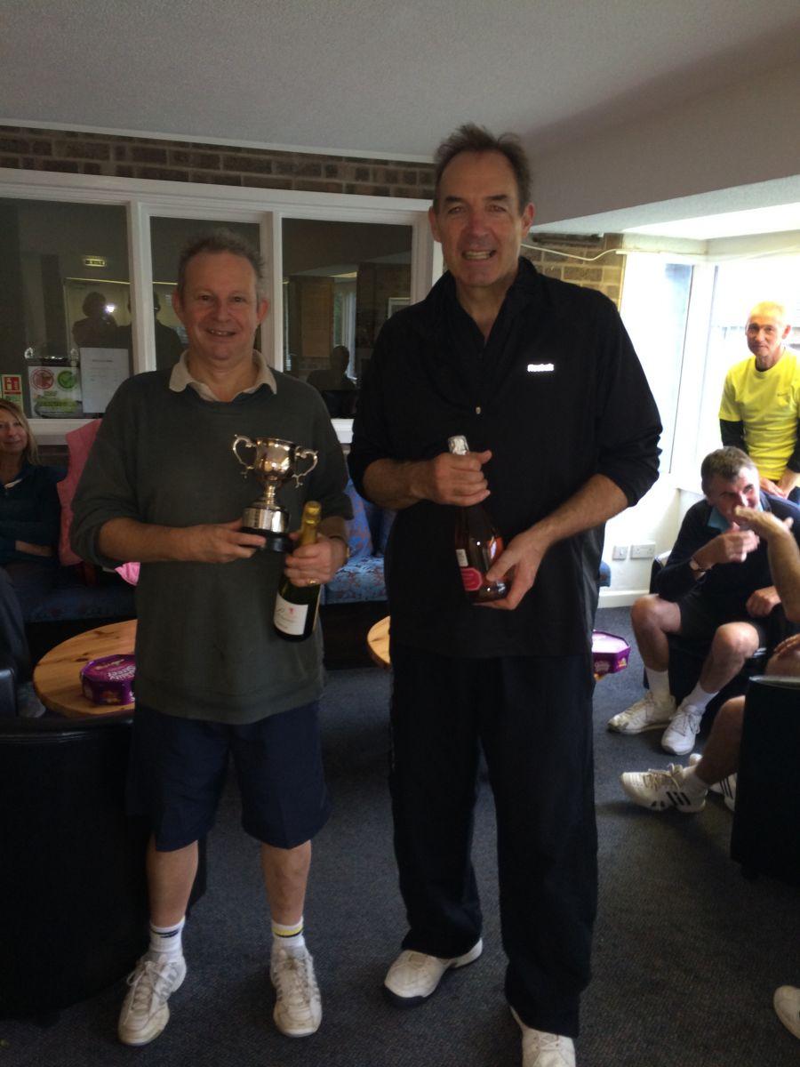 October 2013 Champions - Mike Williams & Al Clark