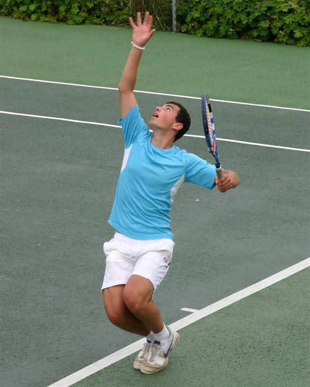 Justin Smith- Men's Singles Tennis Champion 2011