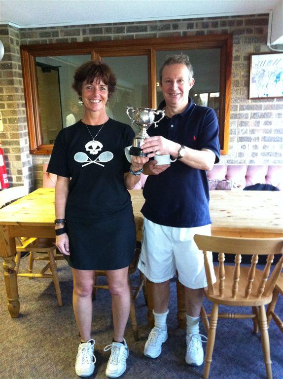 Nov 11 Champions Elspeth Gracie & Mike Williams
