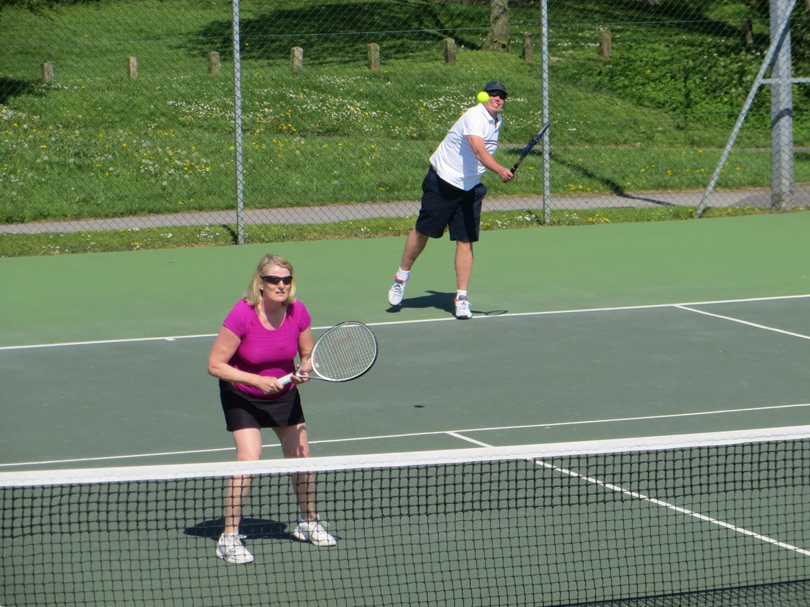Ros & Tim finalists - Easter 2014