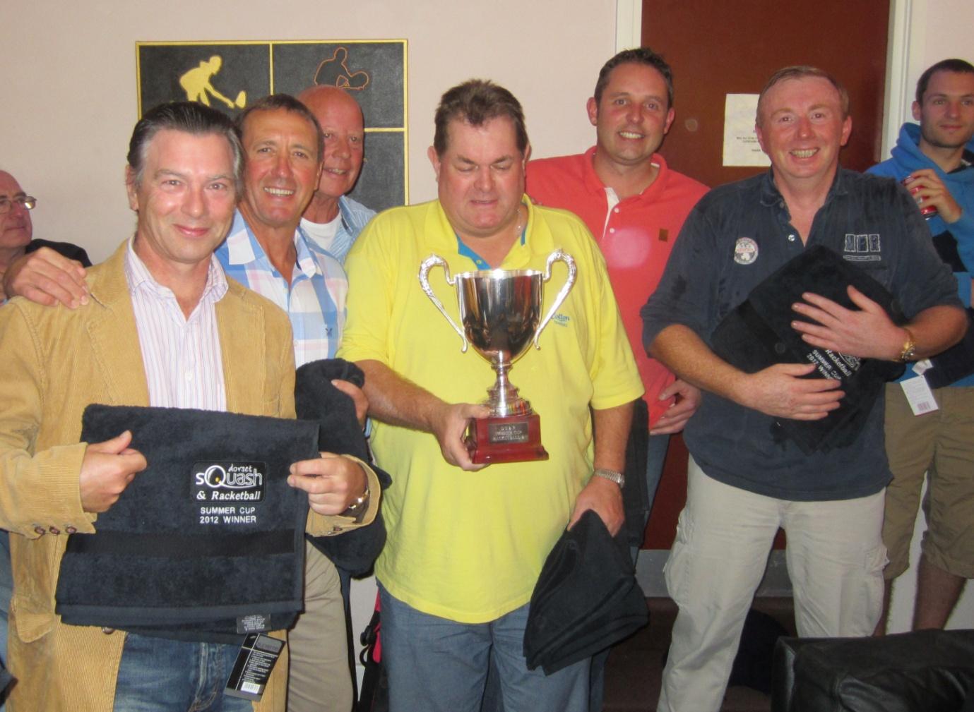 Racketball winners