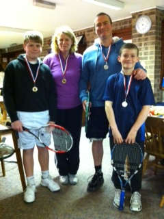 Adult and Junior tennis finalists 2012